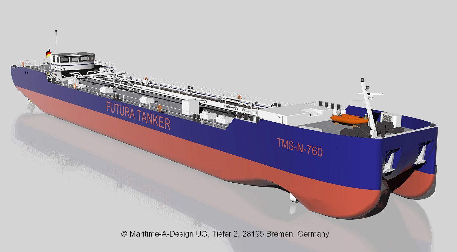 Maritime A Design Products Futura Carrier Tanker